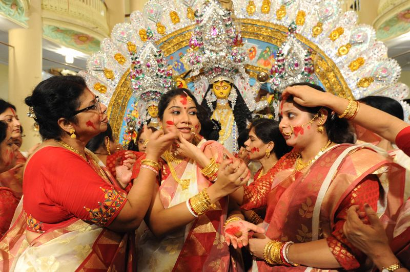 Durga Puja ends in Bengal