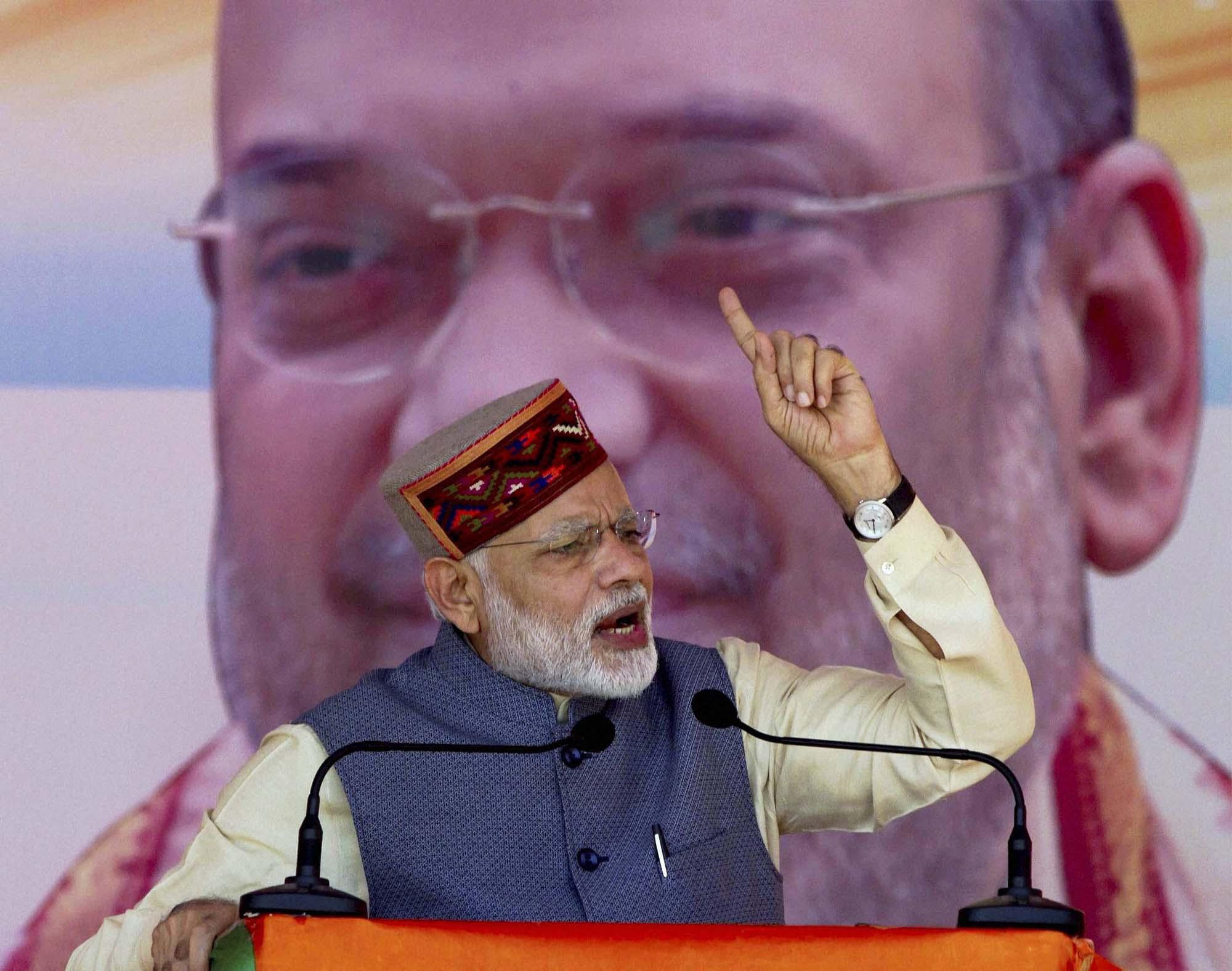 PM Modi in Mandi-1