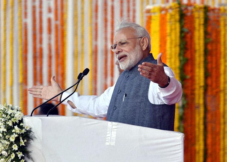 Modi in Naya Raipur