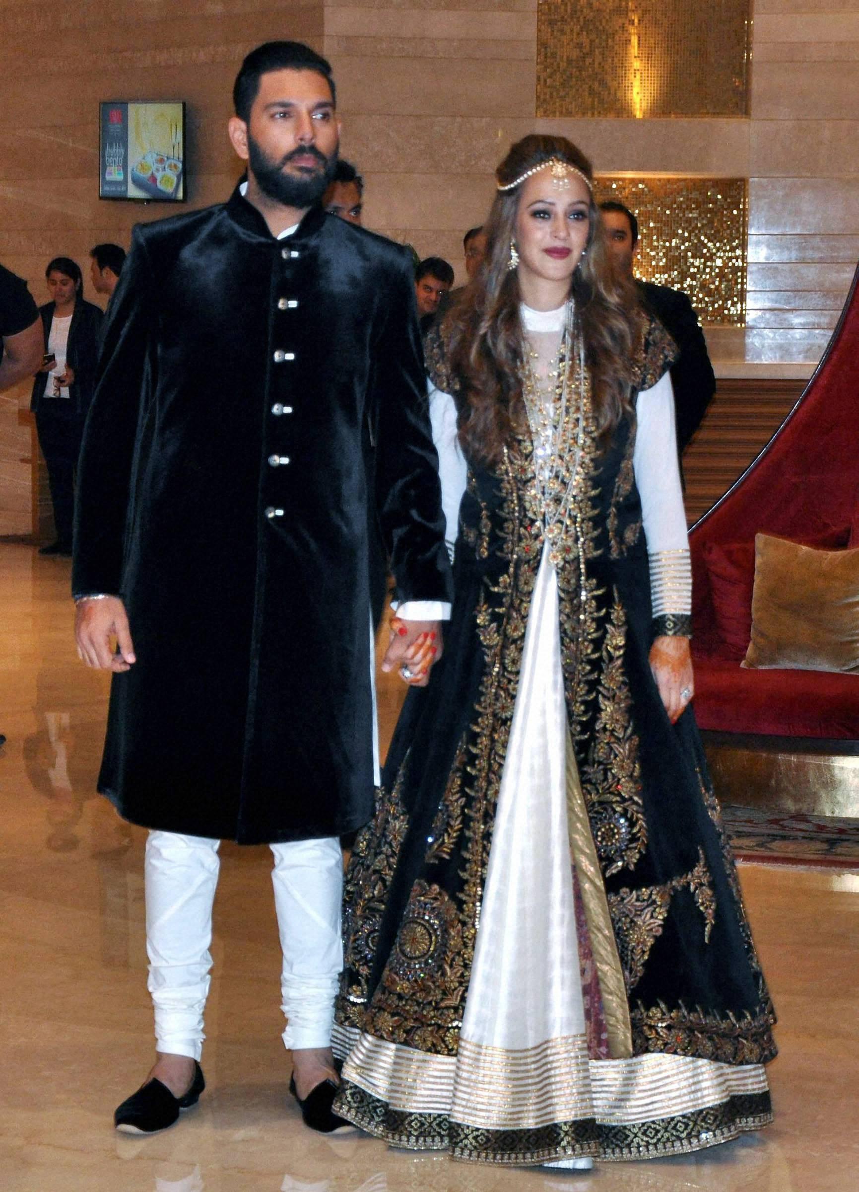 Yuvraj Singh Hazel Keech Ring Ceremony