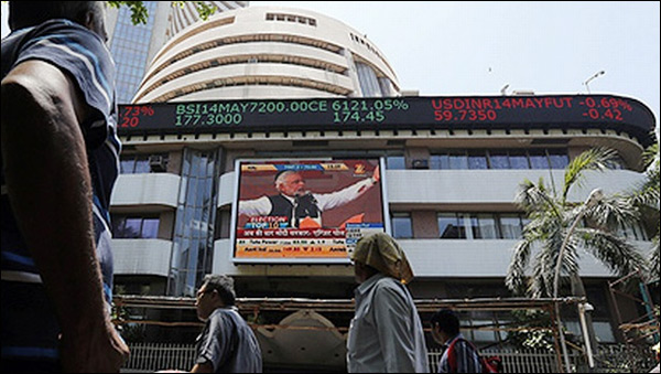 Short-covering, strengthened rupee buoy Indian equities