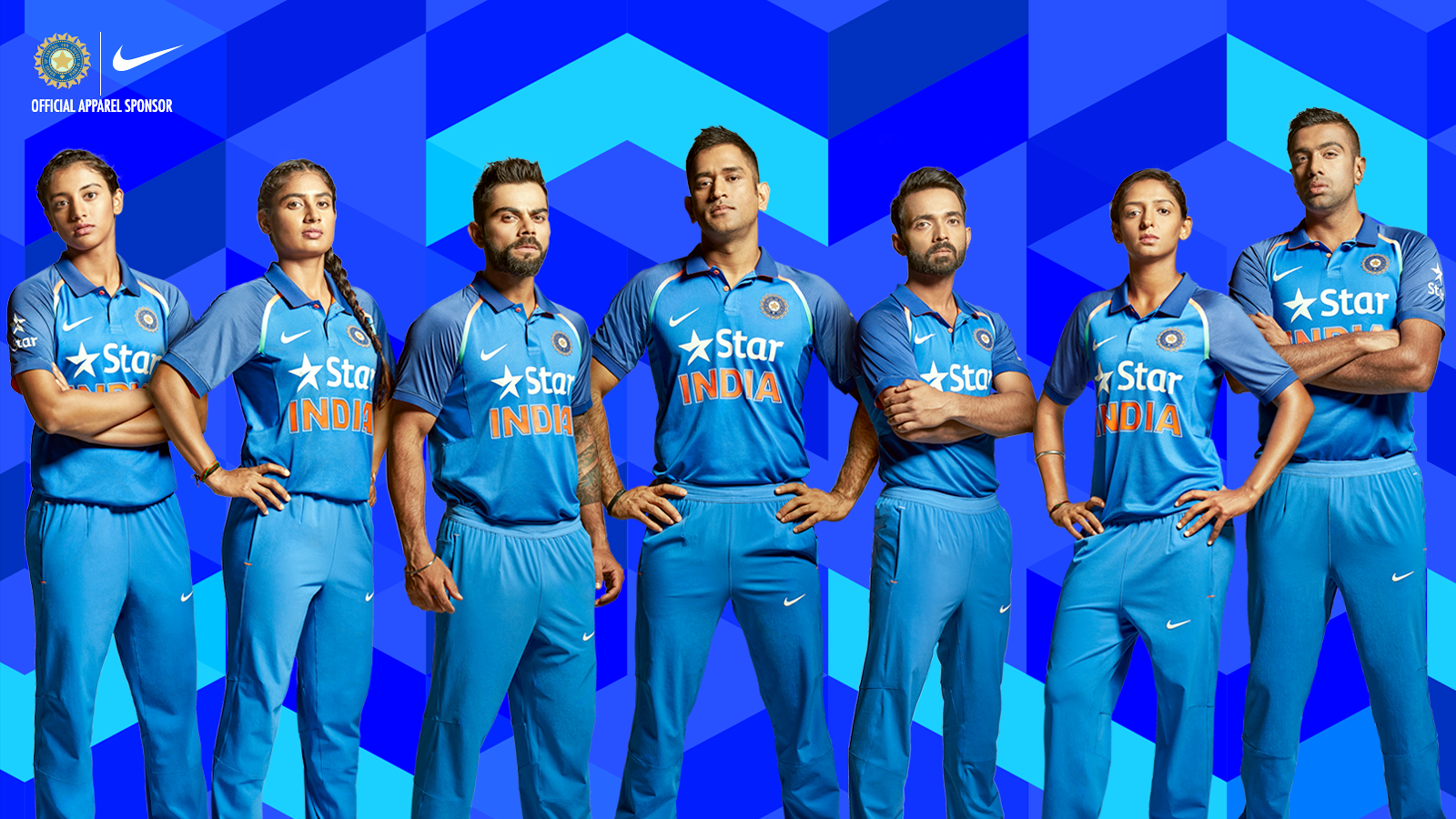 BCCI launched New Cricket Team Jersey 2017