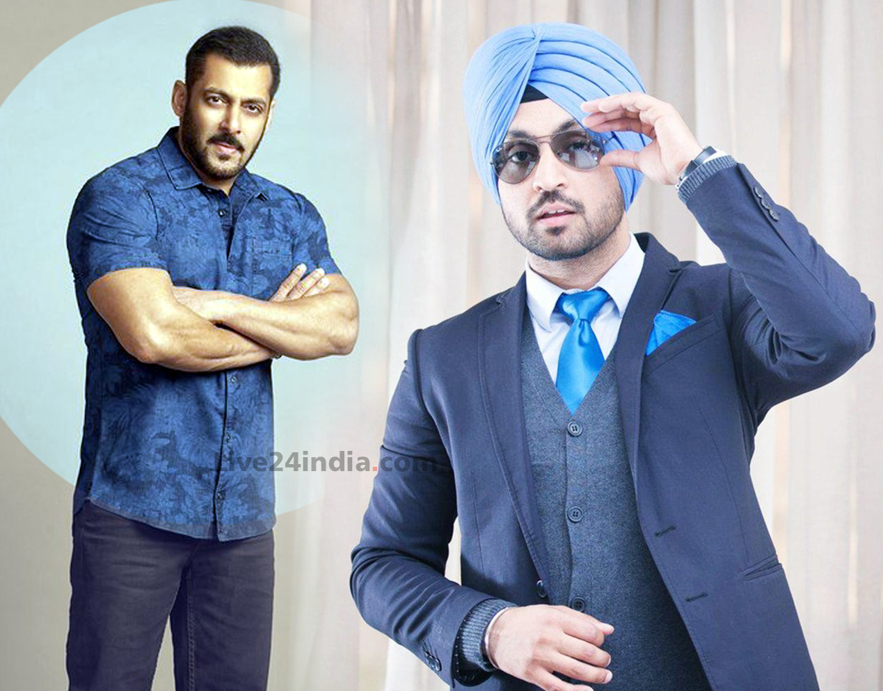 Diljit-Dosanjh and Salman Khan