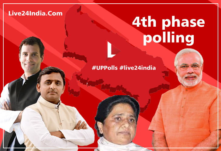 UP Polls 4th Phase Polling Live