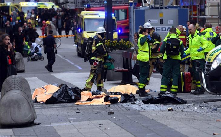 Stockholm Terror Attack