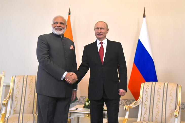 Modi Russia @live