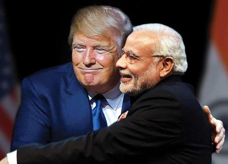 Trump Modi @live