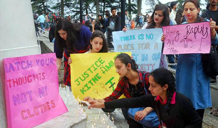 Shimla Raped Protes @live