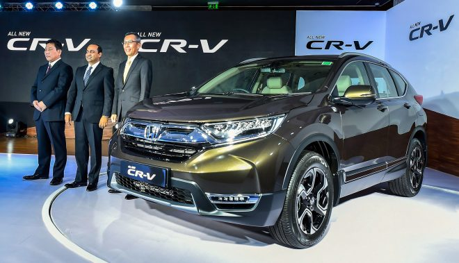 Honda Cars India launches fifth generation CR-V