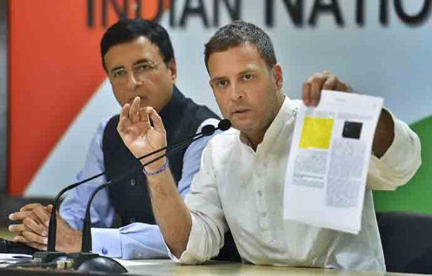 Modi is corrupt, must go Rahul on new Rafale revelations