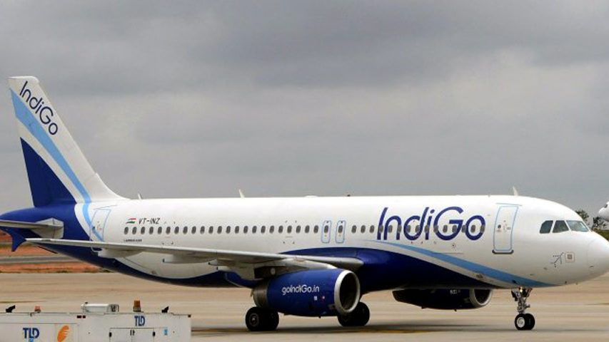 Indigo flight makes emergency landing after fire