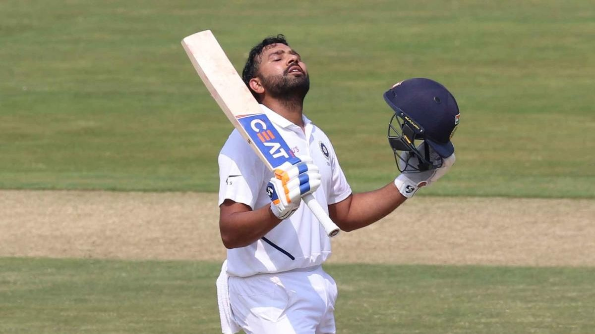 #VizagTest : Rohit steals show with maiden century as opener